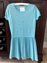 Girls Turquoise Justice Sweater Dress Size 8-10 in St. Charles, Illinois