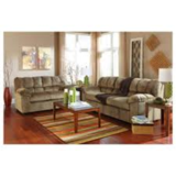 "Ashley ""Julson"" 7pc living room set Incudes Sofa/Loveseat 3 piece coffee table set and 2 lamps in Alamogordo, New Mexico"