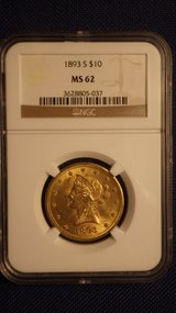1893-S NGC-MS62 $10 Gold Eagle in 29 Palms, California