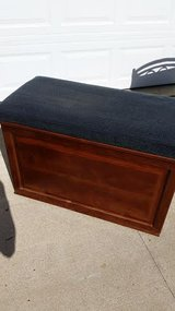 Wood Pecan Bench / Chest in Fort Campbell, Kentucky