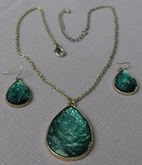 Vintage Jewelry Set Family Pieces Aqua and Gold in Kingwood, Texas