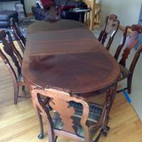 Gorgeous Mahogany dining table. in Glendale Heights, Illinois