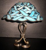 Partylite/Blue Mosaic Lamp  RETIRED in Glendale Heights, Illinois