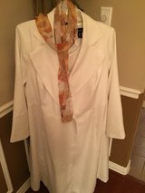 (Sz 20) 4 Piece, Stunning SUIT off white in Baytown, Texas