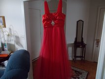 RED PROM DRESS SIZE 13/14 in Fort Campbell, Kentucky