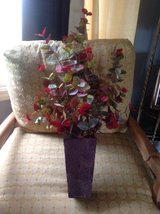 Leaf potted decor in Naperville, Illinois