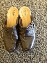 Ladies Clarks Women's Nikki Colony Casual Clog size 8.5 wide in Fort Riley, Kansas