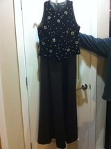 Evening Gown - Long Satin Skirt w/Wrap & Velvet Bodice in Tacoma, Washington