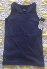 Ralph Lauren girls tank top brand new with tags size 5 in Ramstein, Germany