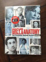 New 2nd Season Grey's Anatomy DVD in Chicago, Illinois