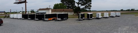 Full line of enclosed trailers in Goldsboro, North Carolina