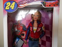 Nascar collectible Barbie (Jeff Gordon) in Byron, Georgia