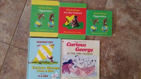 Curious George Books in Fort Lewis, Washington