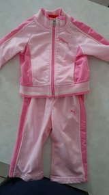 12 mo pink puma outfit in Plainfield, Illinois