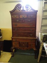 Chippendale highboy dresser in Wheaton, Illinois