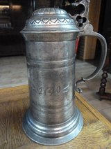 Antique Pewter Stein - 1749 in Ramstein, Germany