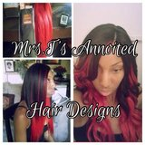Sewin extensions  $135 many other styles and braids avalible in Camp Pendleton, California