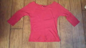 Blue Asphalt Shirt, Red, Size Medium in Kingwood, Texas