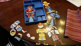 Pretend Boy Characters / Magnetic Puzzle Set in Clarksville, Tennessee