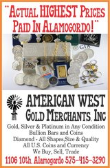 Gold, Silver, Platinum, Diamonds, Coins in Alamogordo, New Mexico