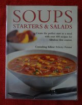 Cooking Book - Soups Starters & Salads-HH -Hermes House in Naperville, Illinois