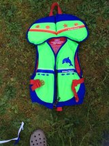 Life vest for child from West Marine in Fort Lewis, Washington