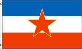 Flag -Yugoslavia - 3' x 5' - Polyester - New in Tacoma, Washington