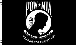 USA Flag - POW-MIA - 3' x 5' - Polyester - New in Fort Lewis, Washington