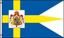 Flag - Sweden Royal - 3' x 5' - Polyester - New in Tacoma, Washington