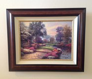 Framed Kinkade Certified Picture in Kingwood, Texas