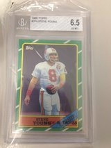 1986 Topps Steve Young RC in Byron, Georgia