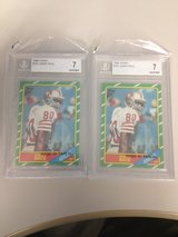 1986 Topps Jerry Rice RC in Byron, Georgia