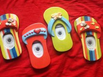 (5) Ceramic FlipFlop Lot in Ramstein, Germany