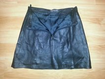 Black Leather Skirt Size S in Hinesville, Georgia