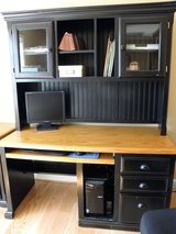 computer desk w/ hutch and lateral file in Camp Lejeune, North Carolina