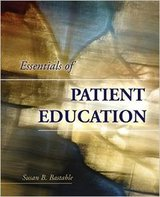 Essentials Of Patient Education Paperback– by Susan B. Bastable in Lockport, Illinois