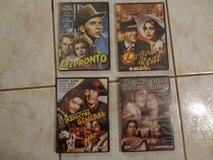 Four new and sealed classic Spanish DVD's in Houston, Texas