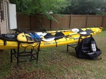 Cabo Ocean Kayak,16', includes many accessories- Top Quality in Warner Robins, Georgia