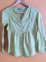 J.Jill cotton long sleeve shirt size XXS petite in Lockport, Illinois