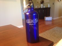 Blue Metal Water Bottle in Naperville, Illinois