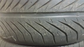 4 BMW summer tires and rims decent condition 225/45 W91 Directional in Wiesbaden, GE