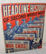 WWII Headline History Book in Alamogordo, New Mexico