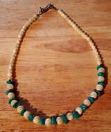 Turquoise & pearl necklace in Fort Polk, Louisiana