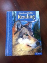 Houghton Mifflin Grade 4 Reading Text Book + 2 Practice Books in St. Charles, Illinois