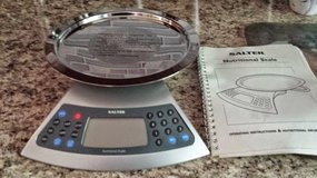 Salter 1400 Nutritional Kitchen Food Scale NEW in Shorewood, Illinois