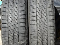 2-Used 185/60R15 Goodyear Eagle LS Tires in Joliet, Illinois