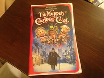 Muppet Christmas Carol VHS in Oswego, Illinois