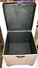 Tan / Leather Storage Box in Fort Campbell, Kentucky