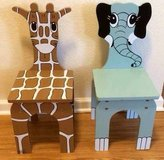 Wooden Animal Chairs - Kids in Katy, Texas