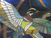 Stain Glass Picture Ducks with frame in Fort Campbell, Kentucky